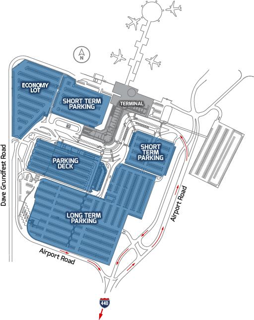 car rental little rock airport  Parking Options | Bill and Hillary Clinton National Airport Little Rock